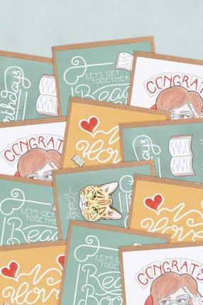 Literary Greeting Cards