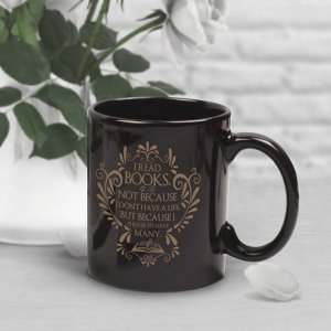 Many Lives Bookish Mug