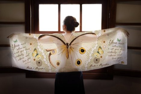 Pride & Prejudice Butterfly Scarf