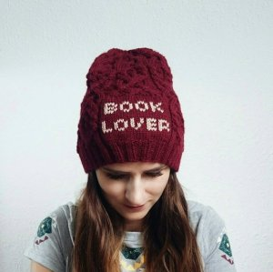 Red Book Lover Beanie Hat