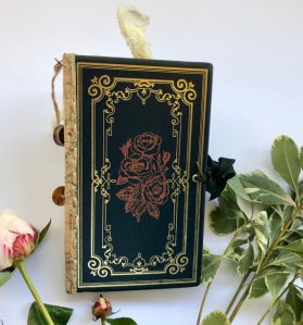 Rose Altered Book Journal