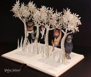 Where the Wild Things Are Book Art