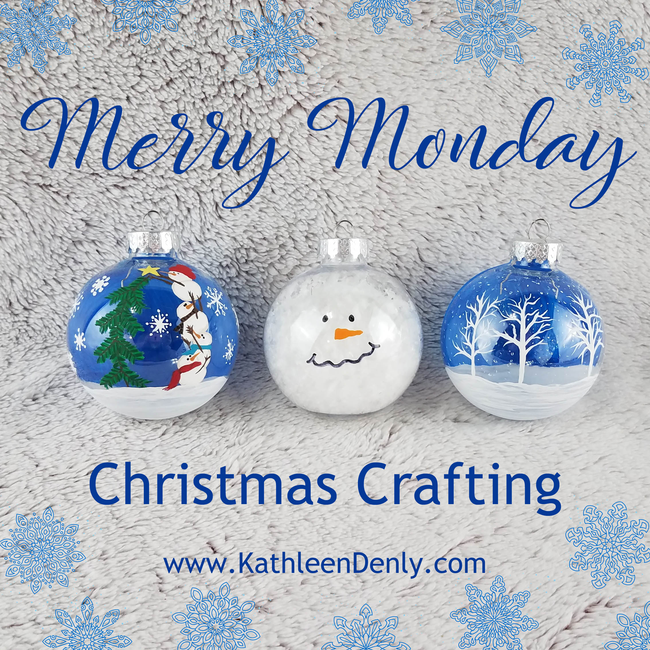 Merry Monday - Christmas Crafting