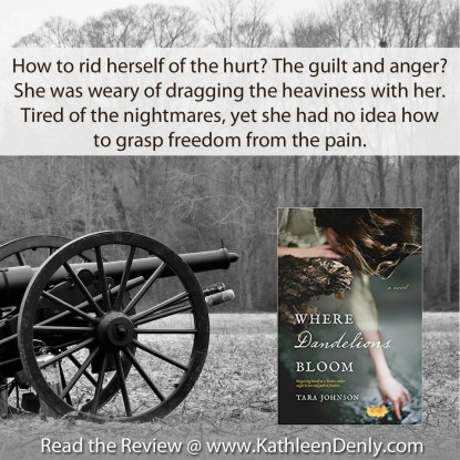 Book Quote - Where Dandelions Bloom - Pain