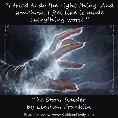Book Quote - The Story Raider