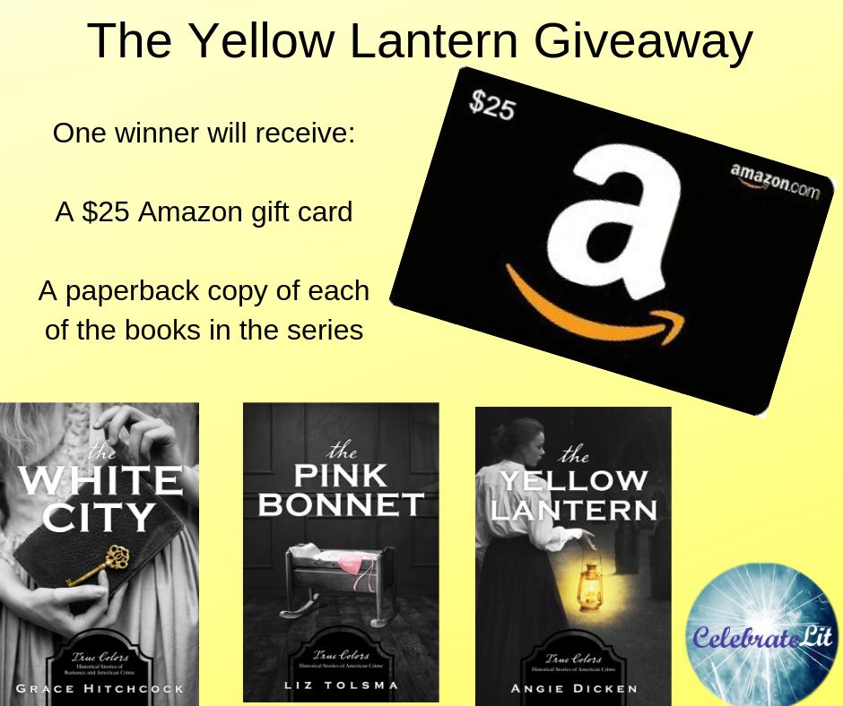 The Yellow Lantern giveaway