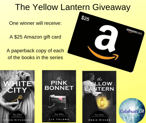 The Yellow Lantern giveaway